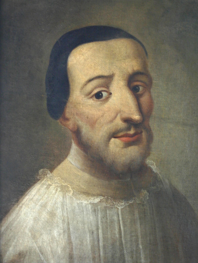 Fig. 8. Nikolaus Adauct Voigt, oil painting hypothetical portrait, Numismatic department, National Museum, Prague