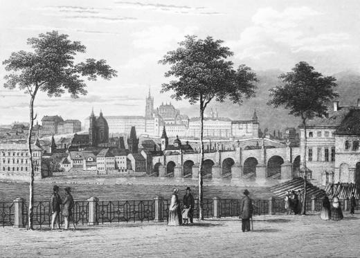 Obr. 56. Karlův Most a Malá strana