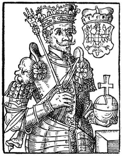 Obr. 9. Karel IV. (Paprockého Zrdcadlo)