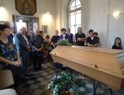 Rozloučení s paní Gretou Moláčkovou (20.6. 1916-23.7.2016) v kapli sv. Václava v Brně Žabovřeskách.